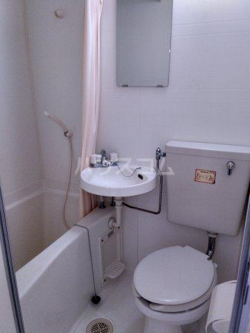 プリンスヒルC 108号室の洗面所