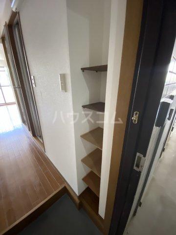 ウイング大久保 213号室の玄関