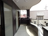 サンタプレイス岡崎 301号室のバルコニー