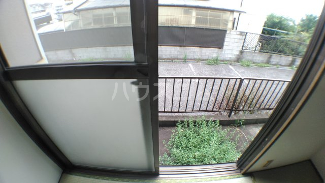 ファミーユ津田沼A棟 102号室のバルコニー