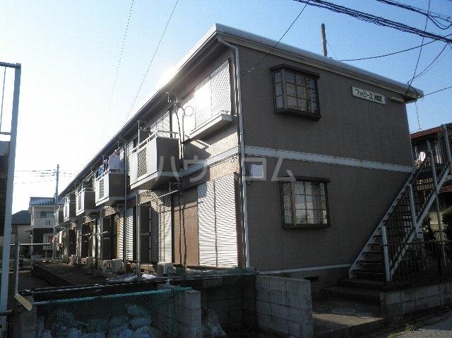 ファミーユ津田沼A棟 102号室の外観