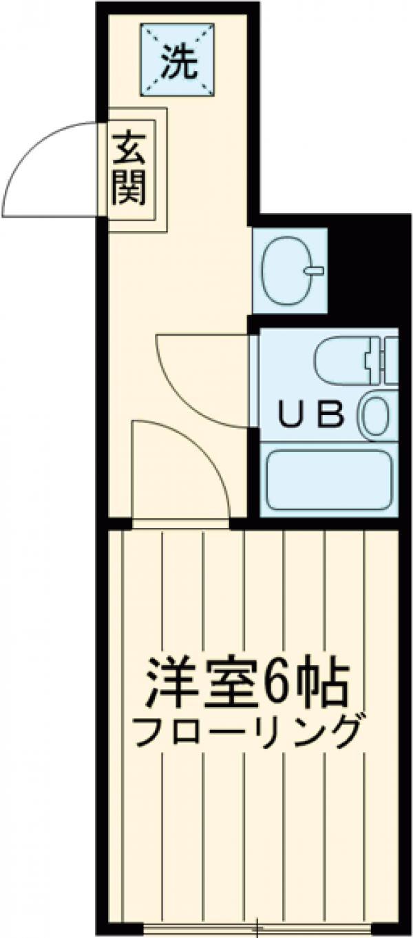 菅田ビル・403号室の間取り