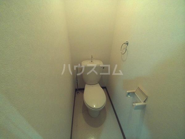エクセレンス石神 203号室のトイレ