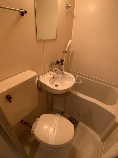 レオパレス岡崎公園 110号室のトイレ