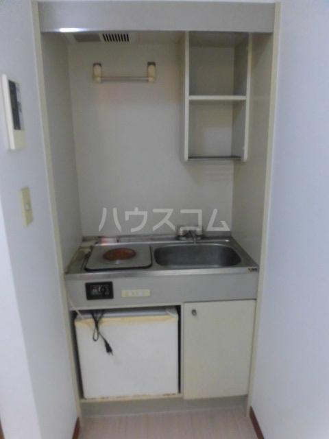 クレインハイツ 101号室のキッチン