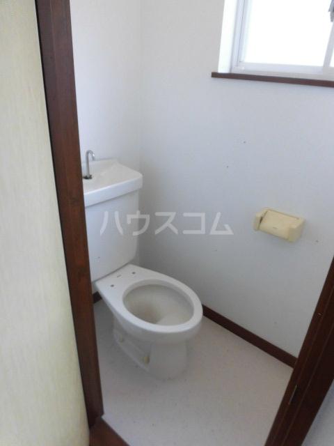 クレインハイツ 101号室のトイレ
