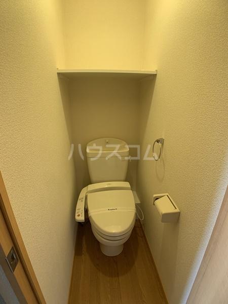 レオパレスバローネⅡ 105号室のトイレ