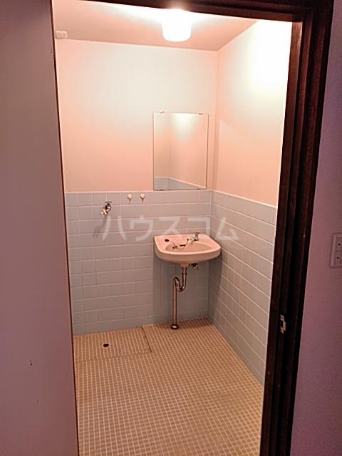富士荘D(北) 202号室の洗面所
