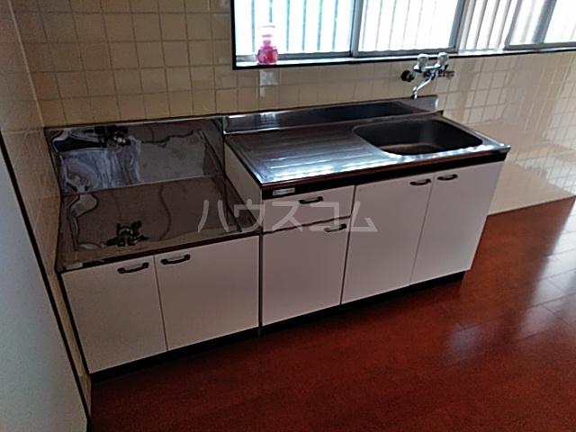 富士荘D(北) 202号室のキッチン