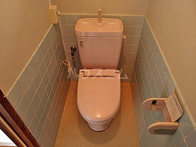 富士荘D(北) 202号室のトイレ