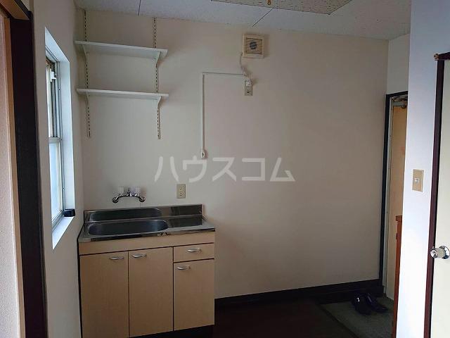 サンライズ6 613号室のキッチン