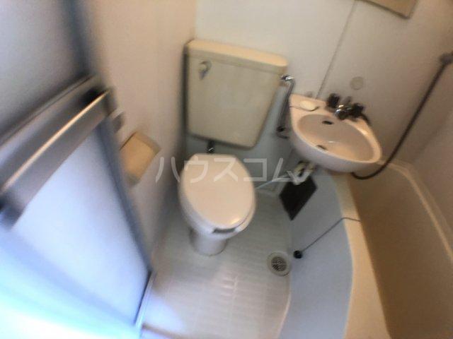 ハイム白樺 102号室のトイレ
