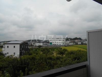 福岡ワンルームマンション B402号室のバルコニー