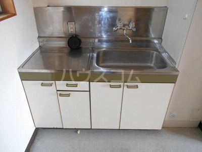 福岡ワンルームマンション B402号室のキッチン