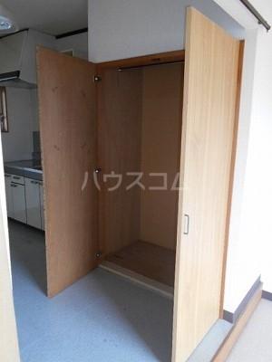 福岡ワンルームマンション B402号室の収納
