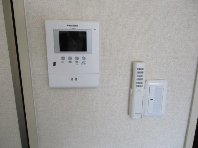 グレースハイツごとう 105号室のセキュリティ