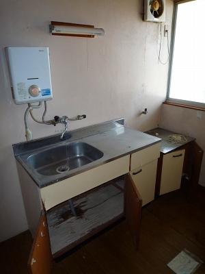 コーポ井川 101号室のキッチン
