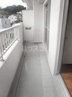 メゾン・ド・セリーヌ 303号室のバルコニー