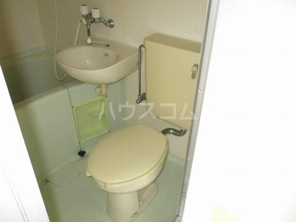 グランドビュー大池 501号室のトイレ