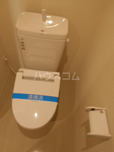 双樹マンション 303号室のトイレ