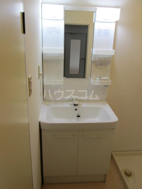 メゾンファミール Ⅰ 02010号室の洗面所