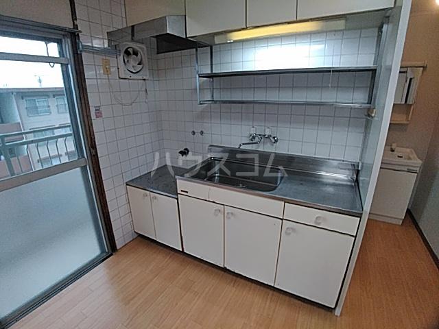 光マンション 402号室のキッチン