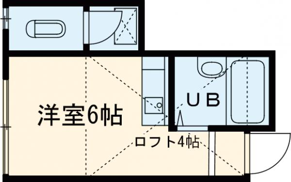 ルアナ和泉 1-A号室の間取り