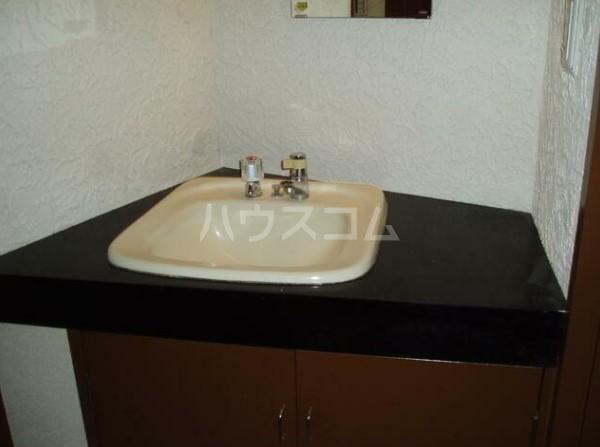 リラコーポの洗面所