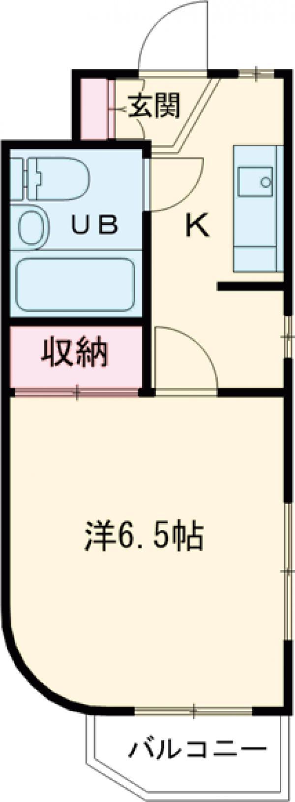 ベラパラッシオ田中・205号室の間取り