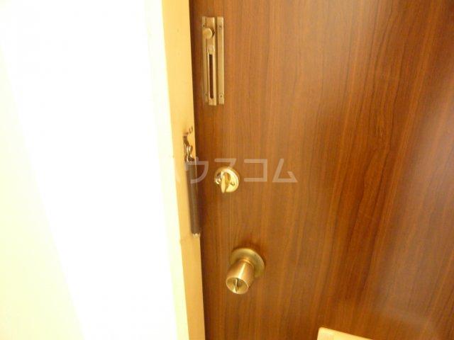 モンルポー 201号室のセキュリティ