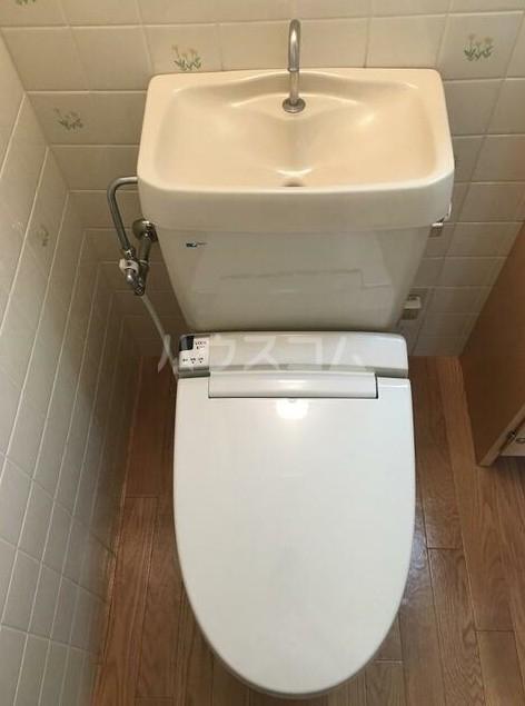 グランドハイツ自由が丘 4号室のトイレ