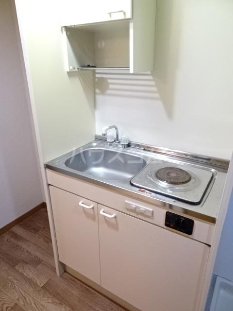 グランド月見 206号室のキッチン