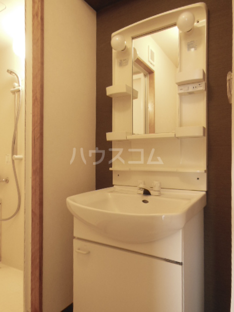 ハッピーヒルズ青木 202号室の洗面所