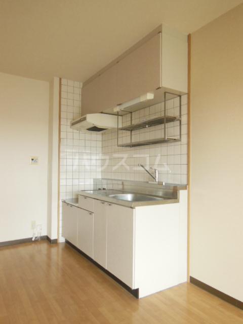 ハッピーヒルズ青木 202号室のキッチン