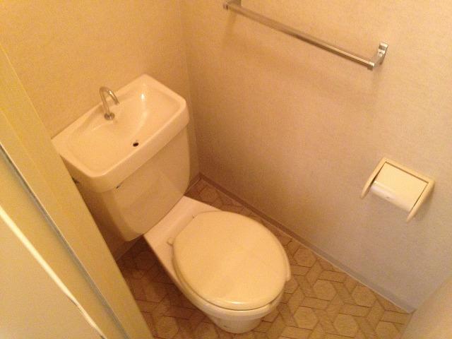 コーポスカイハートD 206号室のトイレ
