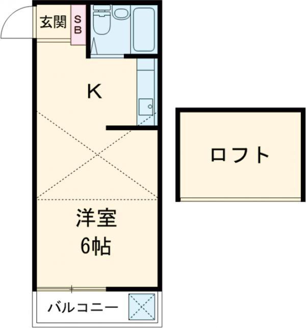アパートメントR&T・101号室の間取り