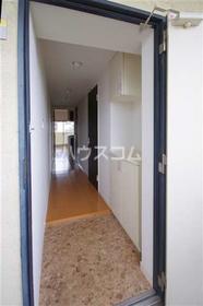 ボン・ナテュール 303号室の玄関