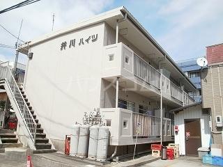 井川ハイツ 203号室の外観