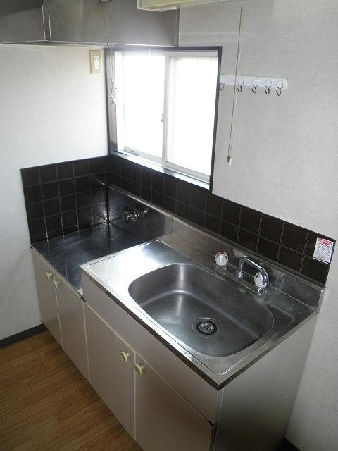 ファミール井川 201号室のキッチン