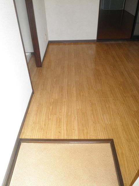 ファミール井川 201号室の玄関