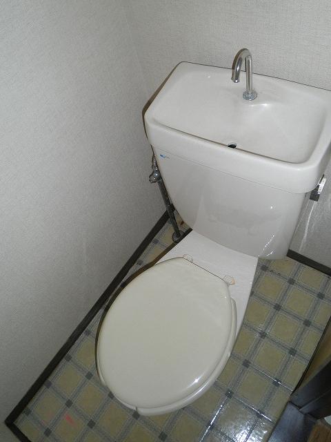 ファミール井川 201号室のトイレ
