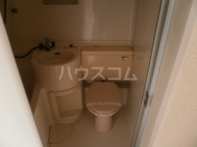 グリーンヒル№2 203号室のトイレ