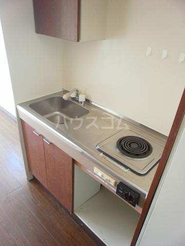 グリーンヒル№2 203号室のキッチン