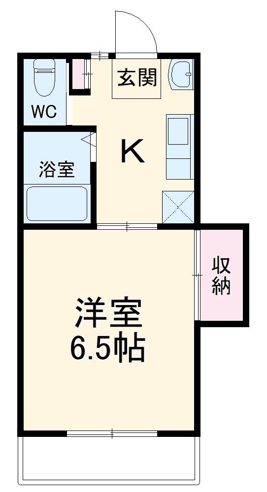 永和第5ビル 101号室の間取り