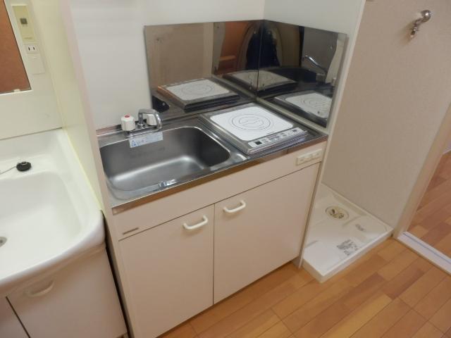 永和第5ビル 101号室のキッチン