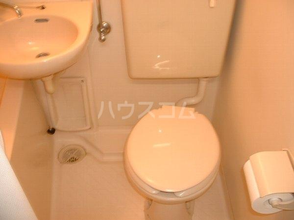 ロワール実籾 105号室のトイレ