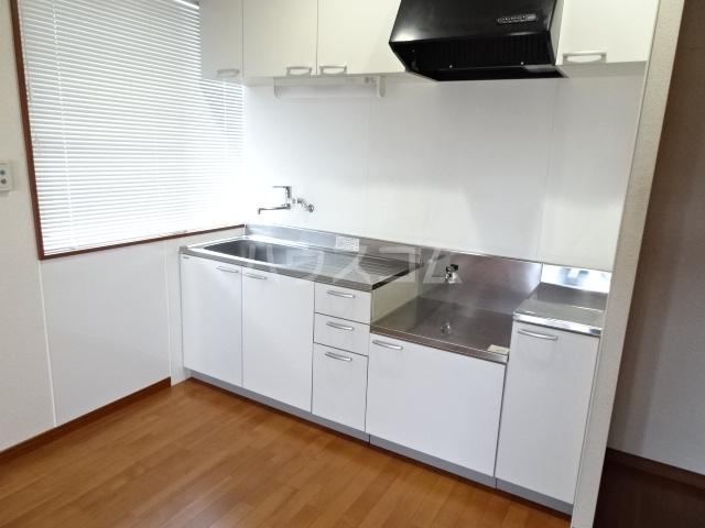 ピアノビル 301号室のキッチン
