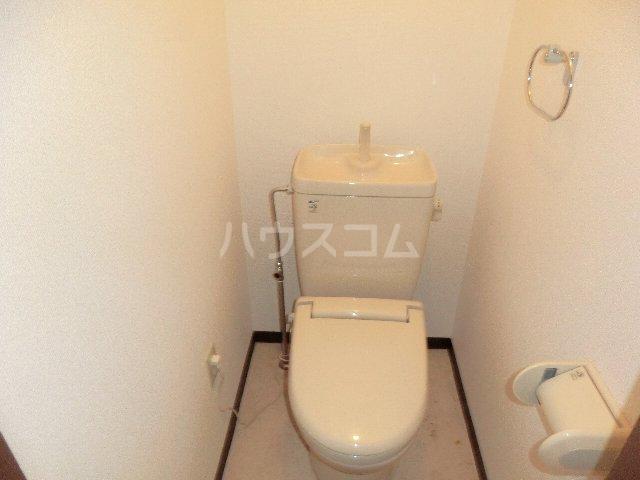 ラ・ピエス 202号室のトイレ