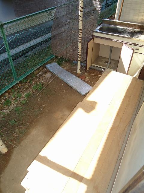 那須住宅 3号室の庭