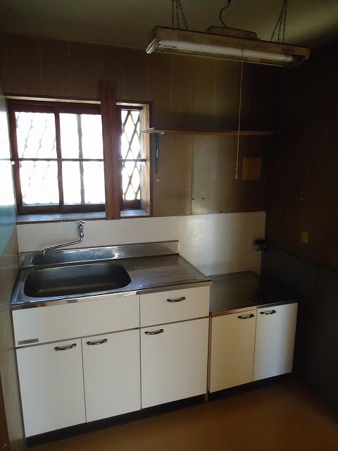那須住宅 3号室のキッチン